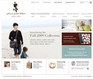 Project Management Stories: Petunia Pickle Bottom Web Site