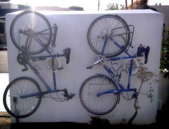 Bike rack design for designers