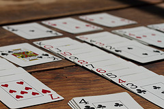 Does it get much more boring than solitaire?