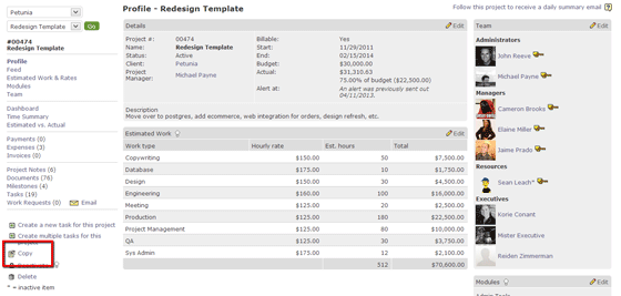 Project Templates | Managing Multiple Projects | Intervals Blog