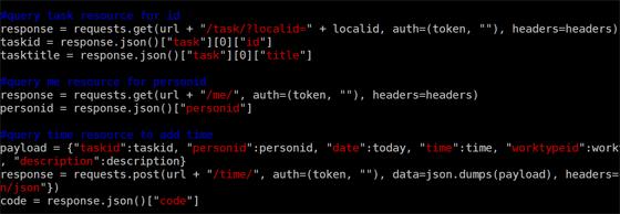 Command Line Time Tracking | Python Code Script | Intervals Blog