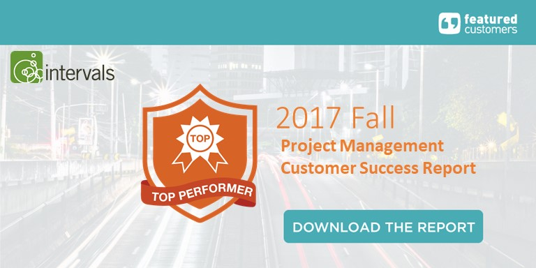 "Intervals declared a ""Top Performer"" by FeaturedCustomers.com"