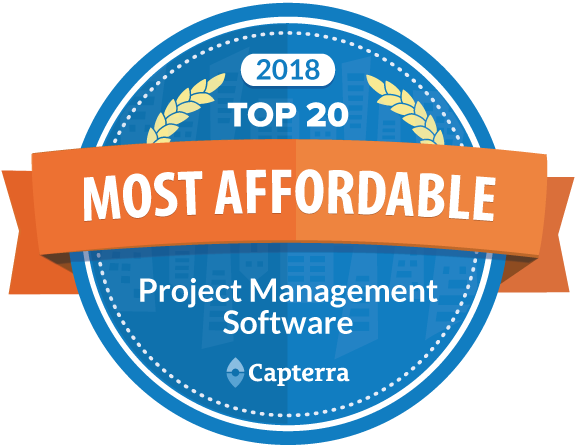 Capterra Most Affordable Badge