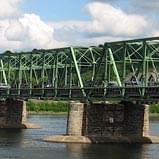 Imbue Creative Showcase | The bridge spanning the Delaware River from New Hope, Pennsylvania, to Lambertville, New Jersey