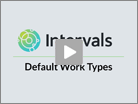 Default Work Types